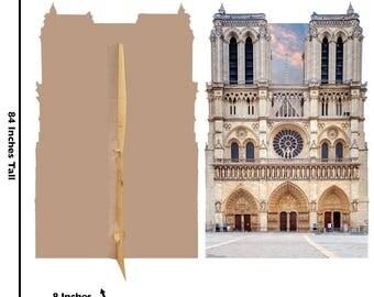 Notre Dame Backdrop