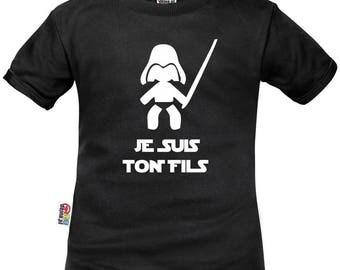 Kids t-shirt Star Wars: I am your son