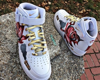 Guns and roses airforce ones