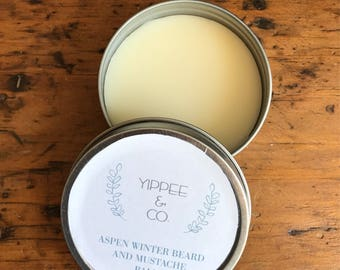 Aspen winter beard and mustache balm