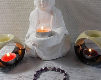 "Bracelet stones natural ""Amethyst"" (introductory offer)"