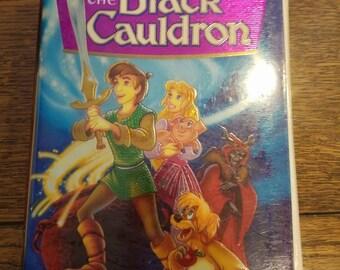 The Black Cauldron VHS
