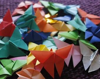 Mariposa curtain origami