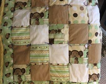 Baby blanket - patchwork quilt