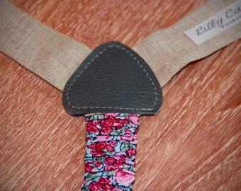 STRAPS girl LIBERTY / linen 2 sizes available