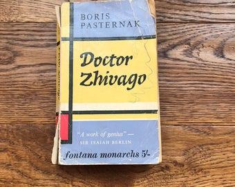 Doctor Zhivago, vintage book, book, Boris Pasternak, 1960s, 1960s book, literature, classics, collectible book,