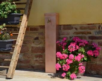 Garden fountain copper COSMOS Misterzinc