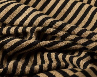 100% Rayon Yarn Dyed Stripes Fashion Upholstery Vintage Dress Craft Supplies Colour Style Design Fabric Sample Available