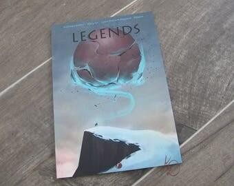 Legends book - book in color