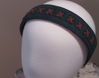 Leather Headband Handmade