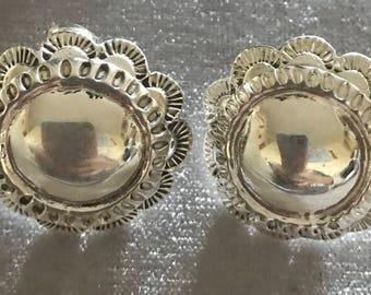Sterling Pierced Earrings
