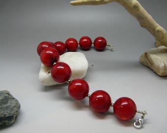 Sea bamboo bracelet