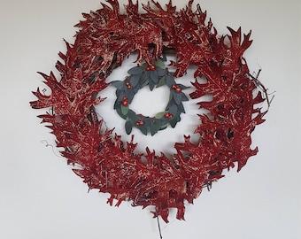 Double Autumn Wreath