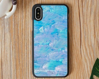 iPhone X case, iPhone X Protective Case, Handmade High Quality Seashell Case for iPhone X