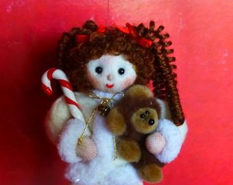 Girl Christmas Ornament