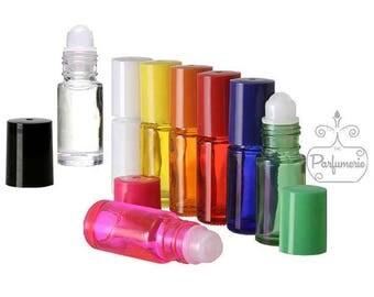 Glass Roll On Bottles - 5 ML