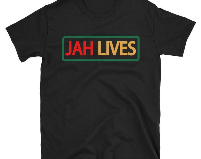 Featured listing image: Jah lives T-Shirt -12 tribes 12 nation