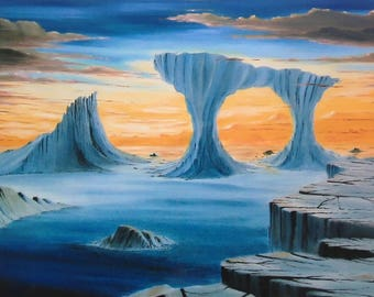A New Dawn - Giclee Print from Original Oil Painting