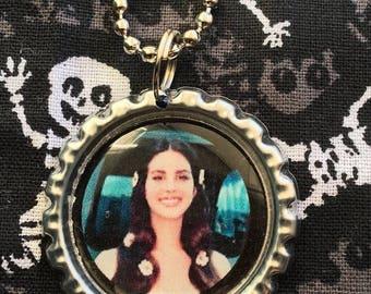 Lana del Rey Necklace Pendant Ball Chain