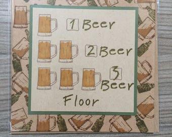 Handmade Beer Card
