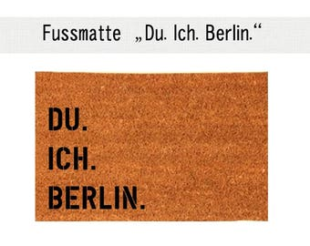 YOU. I. BERLIN. Coco - mat carpet door mat 40 x 60 cm