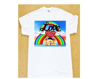 LOVE best friend puppy T-shirt.