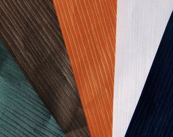 set of 5 sheets of paper A4 metallic ribbed