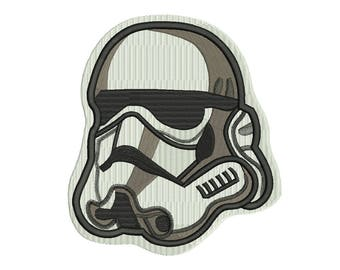 Stormtrooper Embroidery Design - 5 SIZES