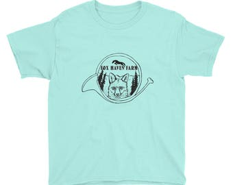 Fox Haven Farm Youth Short Sleeve T-Shirt