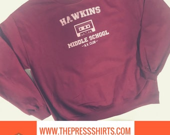 Stranger Things Hawkins Middle School Sweatshirt
