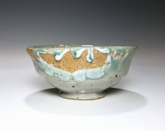 Celadon Pottery / Ceramic Bowl / Wheel Thrown Bowl / Stoneware Bowl / Gift for Her