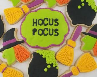Hocus Pocus Halloween Cookies