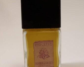 Vintage Roger & Gallet Violette 1 oz