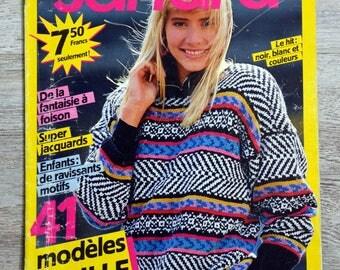 Sandra 31 - February 1987 knitting magazine