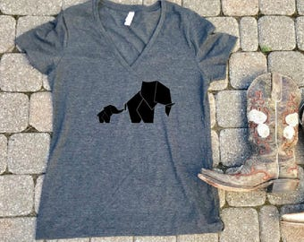 Elephant shirt, Elephant t-shirt, Elephant, Animal shirt, gifts for mom, mom and baby shirt