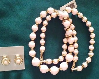 Vintage Avon Necklace, Bracelet and Earring Set