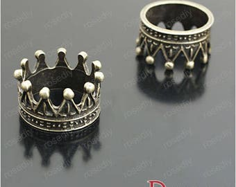 5 charms bronze 23 * 12.5 MM D27131 Imperial Crown