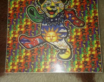 Dead and Company Grateful Dead TRIPPY BEARS STICKERS 5 for 5.00 shipped