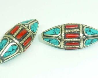 Ethnic Nepalese bead PE533