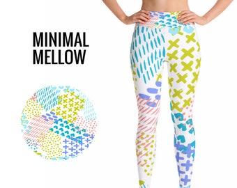 Colorful leggings, Pattern leggings, Yoga Pants, Fall Leggings, Womans Leggings, Trendy Leggings, Yoga Leggings, Unique leggings,