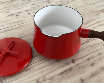 Red Dansk Kobenstyle Sauce Pot
