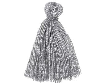FIL95 - Grey cotton tassel mouse 30.0 mm