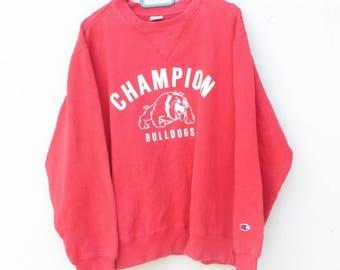 Rare !!! Vintage Champion Sweatshirt