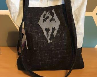 Skyrim Tote Bag