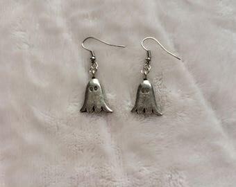 Ghost Halloween Earrings- handmade earrings- women's earrings- gifts for her