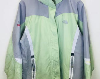 Vintage The North Face Gore-Tex Summit Series Multicolour Rare Design With Hoodies Multiple Pockets
