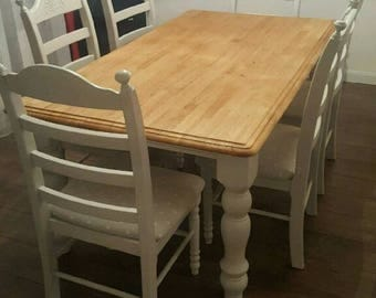 Amazing 6ft x 3ft Bespoke Shabby Chic Table Set
