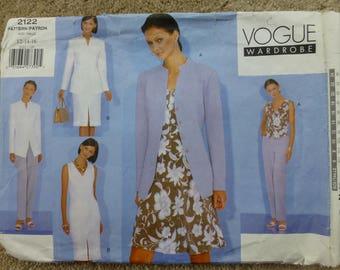 Vogue Pattern 2122 Wardrobe