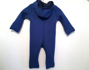 Walk overall wool overall envelope cuff blue gr. 62/68 74/80 80/86