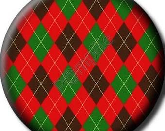 Cabochon resin 25 mm (712) - Scottish diamond - paste